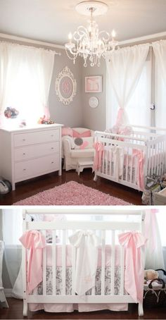 Baby Girl Room Curtains - Interior Paint Colors for 2017 Check more at http://www.chulaniphotography.com/baby-girl-room-curtains/