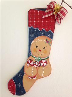 Resultado de imagen para botas navideñas en madera country