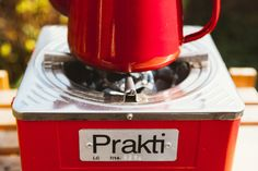 Tea time!  The kettle is boiled in moments on our rocket stoves. #Thecharcoalburnercompany.co.uk