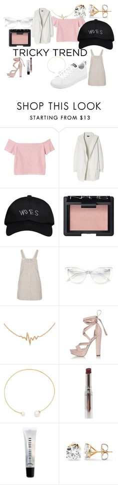 """Untitled #389"" by thinkcoco ❤ liked on Polyvore featuring Monki, Theory, October's Very Own, NARS Cosmetics, Topshop, Wildfox, Allurez, River Island, Fallon and Chantecaille"