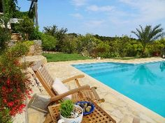 Where+Ancient+History+And+Culture+Meet+The+Present+In+Elegant+Comfort+++Holiday Rental in Attica from Home And Away, Outdoor Furniture, Outdoor Decor, Ancient History, Sun Lounger, Swimming Pools, Culture, Park, Elegant