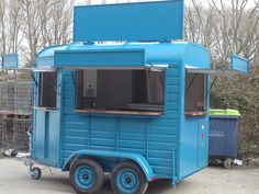 Horse Box Conversion Catering Trailer