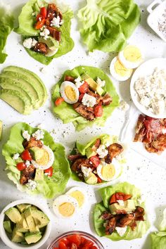 Chicken Cobb Lettuce