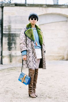 Vanessa Jackman: Paris Fashion Week AW 2013....Leaf