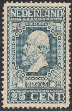 J J Aarts, 1913 Netherlands More about stamps: http://sammler.com/stamps/