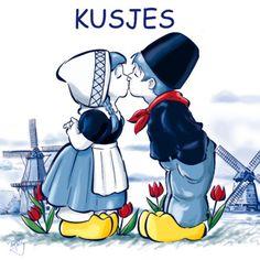 delfts blauw kussend paartje sjabloon - Google zoeken