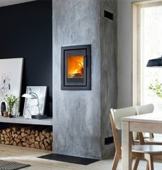 Kernow Fires are suppliers of the Contura i4 Modern #inset #contemporary #cornwall #modern #fireplace #redruth #wadebridge