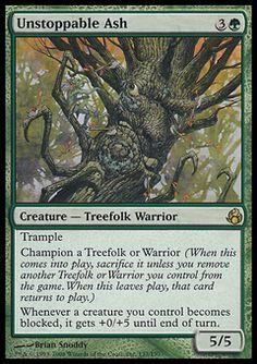 Leaf-Crowned Elder ~ Morningtide ~ NearMint//Excellent ~ Magic The Gathering