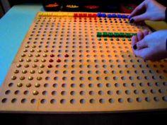 Dividir con tabla perforada
