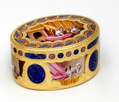 Eighteenth Century French Snuff Box Courtesy V & A Museum, London