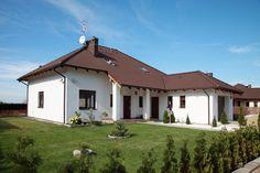 Domy jednorodzinne typu Fin posiadają również garaż ;)
