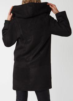 ARMA Babina lammy coat met capuchon • de Bijenkorf