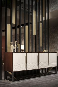 White Living Room Furniture Leather Sofas Magnolia Home Furniture Living Room Partition Design, Room Partition Designs, Foyer Design, Dining Room Design, Sideboard Design, Partition Screen, Luxury Dining Room, Luxury Furniture, Modern Furniture