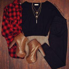 Breezy Days Long Sleeve Crop Sweater - Black