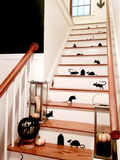 50 f tes d 39 halloween on pinterest 92 pins for Escalier decor