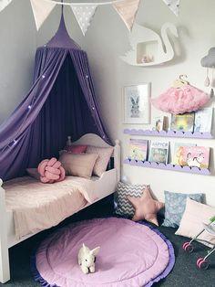 65 small bedroom design ideas for your apartment 41 Bedroom For Girls Kids, Little Girl Rooms, Tween Girl Bedroom Ideas, 6 Year Old Girl Bedroom, Modern Girls Rooms, Kids Room, Baby Room Decor, Bedroom Decor, Small Bedroom Designs
