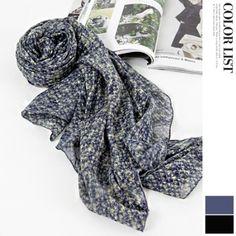 Korea womens shopping mall [JOAMOM] Caro long printing scarf / Size : FREE / Price : 17.78 USD #korea #fashion #style #fashionshop #joamom #missyfashion #missy #scarf