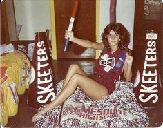 cheerleading camp1982 Tracey Darnell   Go Skeeters #cheer #cheerleader #cheerleading