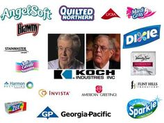 Sign the pledge: Don't buy Koch products Koch industries and its subsidiaries are expansive—their holdings include ev...