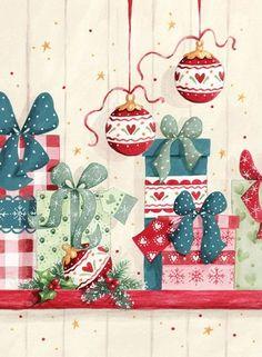Presents and ornaments