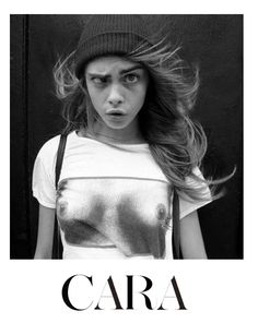 Cara Delevigne has so many weird yet cool shirts