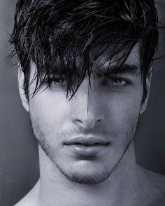 Oblong face hair and facial hair