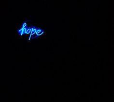 hope in neon