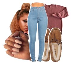 Untitled #283 by gabb-slayy on Polyvore featuring polyvore, fashion, style, UGG Australia and clothing
