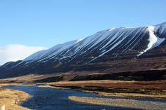 Between Lake Myvatn and Akureyri