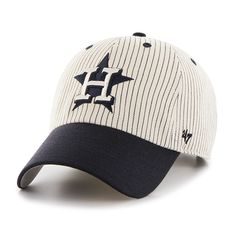 1b6bf8ed96747 Houston Astros Pinstripe Home Run Two Tone Clean Up Navy 47 Brand  Adjustable Hat. Astros HatDetroit GameHouston AstrosClean UpTwo Tones MlbBaseball ...