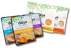Are you struggling to find a tasty cheese alternative? Enter Daiya, a dairy-free dream come true. Their delicious cheeses are perfect if you are dairy-intolerant, allergic, vegan or simply looking to live a healthier lifestyle with your family. All Daiya products are free of the top three allergens: dairy, soy, and gluten. Plus, they're made only with GMO-free, plant-based ingredients—nothing artificial.