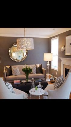 Formal living room @Heather Creswell Lang