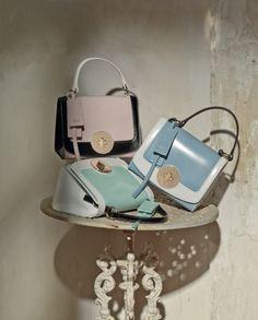 ZUCCHERO FILATO mini bags by TOSCA BLU #ss2013 #bags #pastel #girlie #chic #shopping