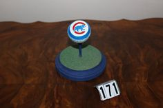Cubs Logo Golfball by NCProductsLLC on Etsy