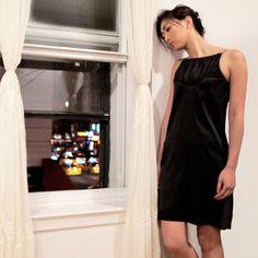 Little Black Dress. Silk Chiffon