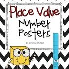 This is a set of place value number posters from 1-20. Each poster  has the number, the number word, base ten example, and tens frame example. Thes...