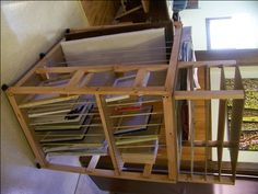 Art storage rack for painters- easy to build - Page 5 - WetCanvas