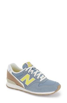 Loving these retro New Balance sneakers for a fresh, seasonal twist on a sporty classic.