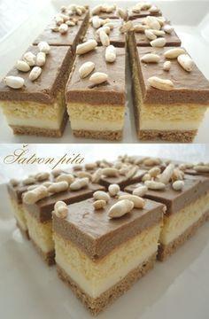 Šatron pita by Majchek Cupcake Recipes, Baking Recipes, Cookie Recipes, Dessert Recipes, Pita Recipes, Bajadera Recipe, Easy Desserts, Delicious Desserts, Kolaci I Torte