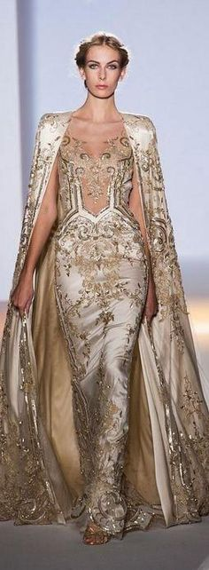 Zuhair Murad - Haute Couture Spring 2013. I really fancy this as a wedding dress.