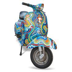 ● Vespa 50, Lambretta Scooter, Vespa Scooters, Classic Vespa, Classic Bikes, Triumph Motorcycles, Ducati, Chopper, Motocross