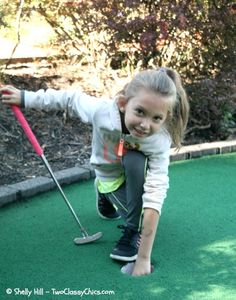 Mini Golf and a Hole-in-One - Our Family's Miniature Golf Tradition and Family Bonding Time!