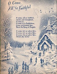 Remembering those blue pages in Ideals magazines.  Christmas 1955 edition