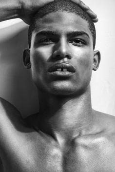 Vince Harrington #black #male #model