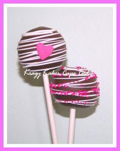 Cake pop Valentine