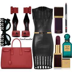 """The Latest / Women / Saint Laurent Accessories"" by kiarafamousgirlfashion on Polyvore"