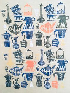 Tea Towel Design, Kitchenware/ Wunderwuz Kitchenware, Tableware, Tea Towels, Plates, Design, Licence Plates, Dinnerware, Dish Towels, Dishes