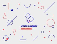 Work in paper on Behance