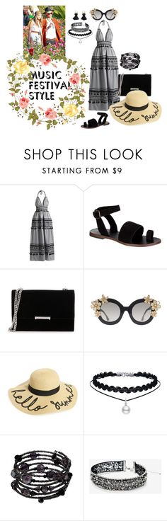 """Music Festival Style"" by carol-ozhan ❤ liked on Polyvore featuring Free People, Ivanka Trump, Alice + Olivia, BP., 1928, White House Black Market and Violeta by Mango"