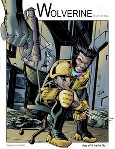Wolverine - The Sacrifice (Marvel Comics) Age of X by Nickolas Lane